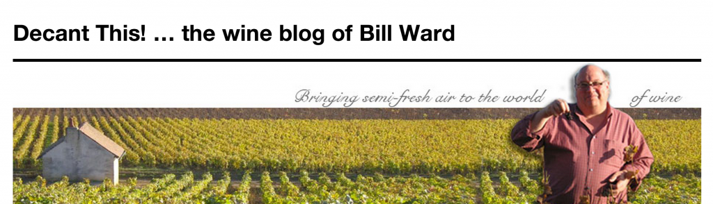 Decant This! ... the wine blog of Bill Ward