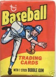 baseball bubble gum